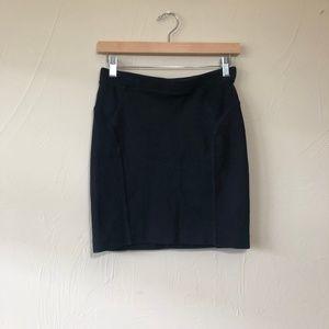 Madewell | Ribbed Panel Mini Skirt